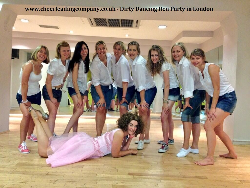 #DirtyDancing Hen Party In London Taught By The
