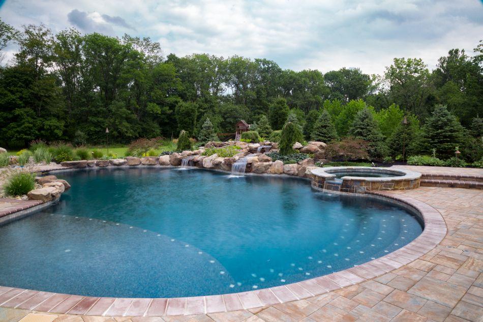 Design Ideas Aquatic Artists Pool Waterfalls NJ, PA