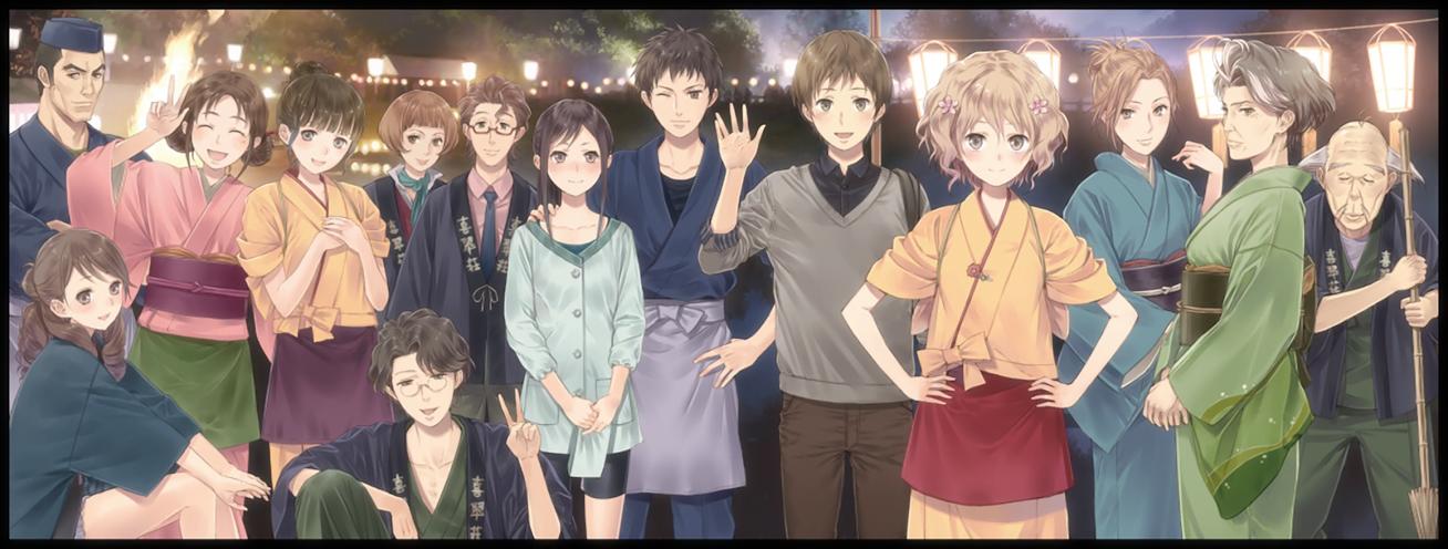 HanasakuIroha HomeSweetHome Gekijouban Movie Everyone