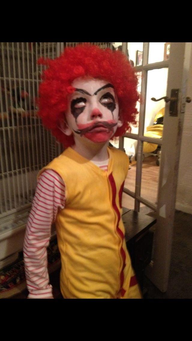 Zombie Ronald McDonald - Scary clowns, Ronald mcdonald, Costumes