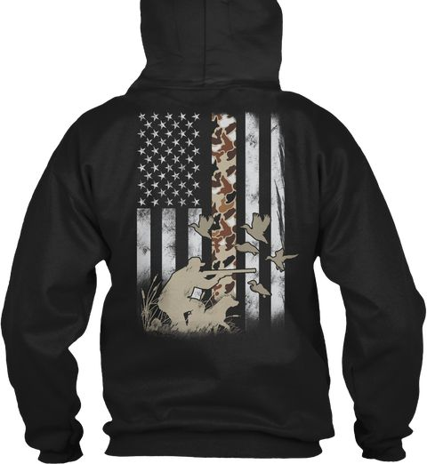 1962fbccc8d68 Waterfowl Flag Hoodie. Shop Our Collection Of Unique Hunting Camo Shirts!  Check it our store: www.huntingcamo.store