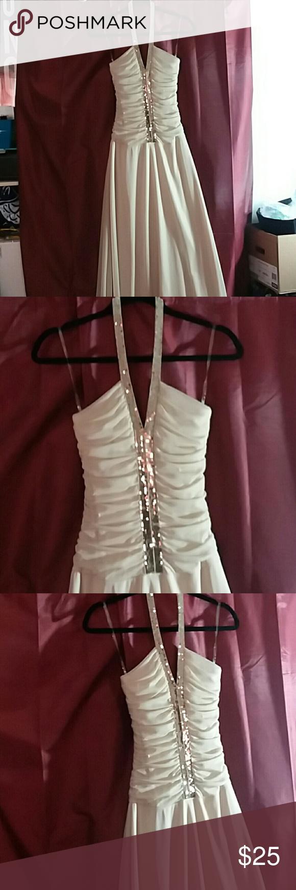 Prom formal dress cream w gold glitter nails designs easy