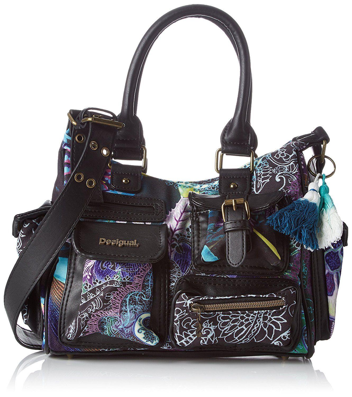 top fashion quite nice new york Desigual Women's BOLS_LONDON Mini Boheme Cross-Body Bag ...