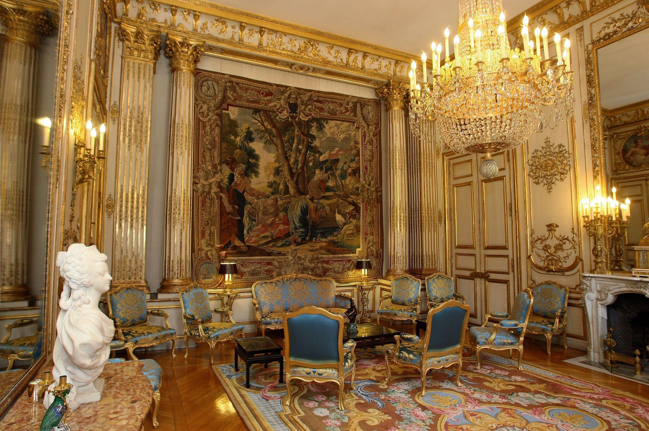Interior, Palais de l'Élysée Paris 8e Pariser