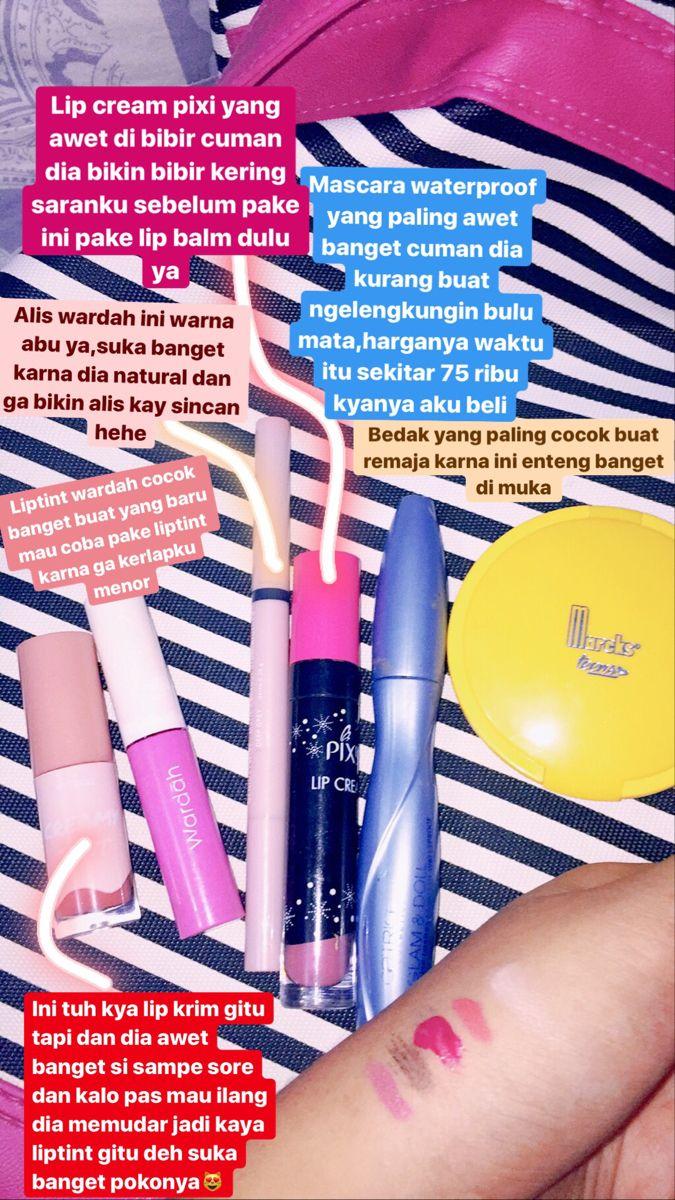 Mask Lipcream Pixie Wardah Emina Liptint Bedak Mascaras Di 2020 Produk Makeup Produk Kecantikan Kecantikan