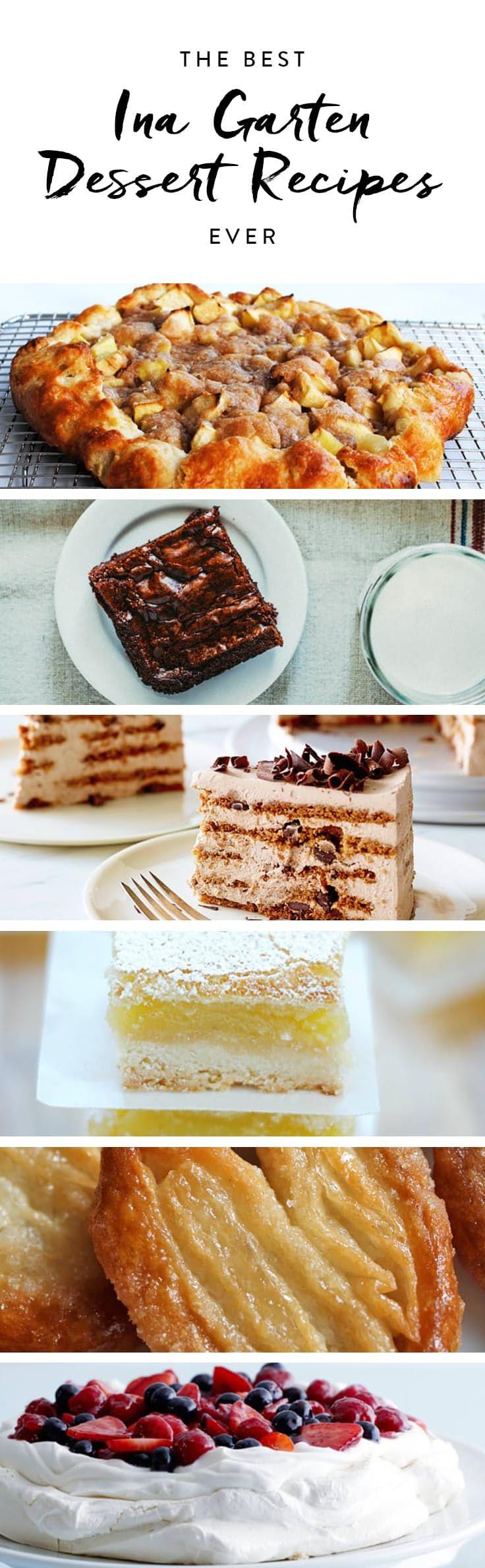 The best ina garten dessert recipes ever desserts pinterest ina garten garten and dessert - Ina garten baking recipes ...