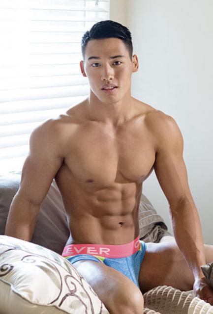 Asian boy body