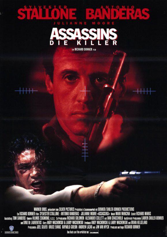 assassins starring sylvester stallone antonio banderas