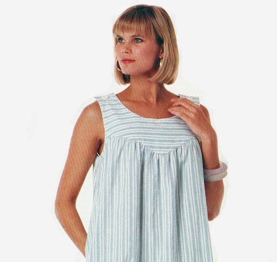 Misses Womens Plus Size House Dress Pattern McCalls Stitch N ...
