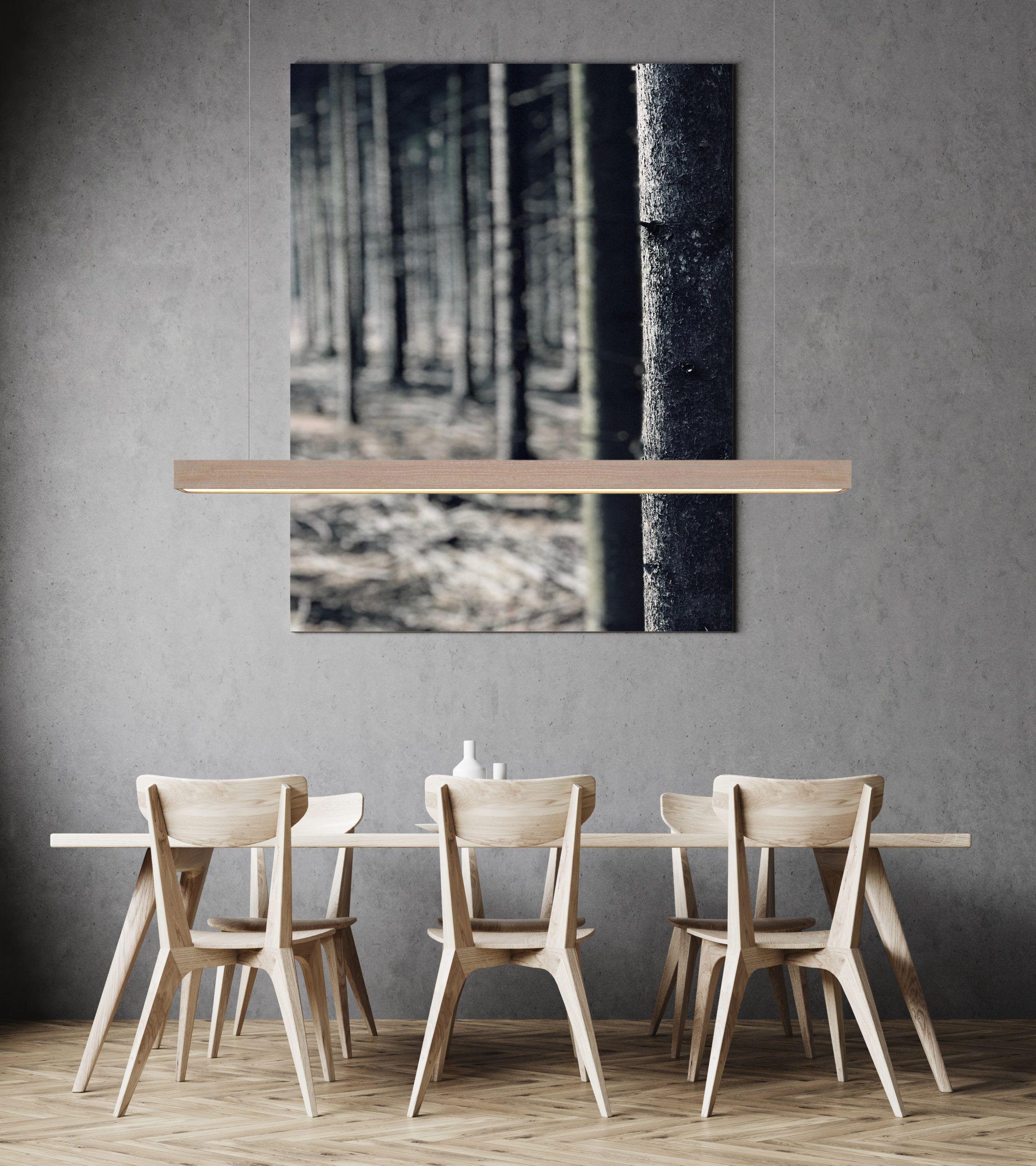 Moderne Led Hangeleuchten Aus Massivem Holz In Exklusiven Designs In 2020 Hangeleuchte Inneneinrichtung Led