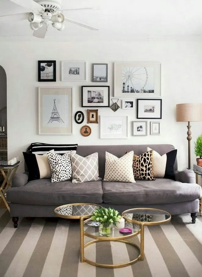 Small Living Room Ideas On A Budget: 33 Cozy & Elegant Small Living Room Decor Ideas On A