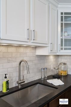Image Result For Steel Gray Honed Granite With White Cabinets