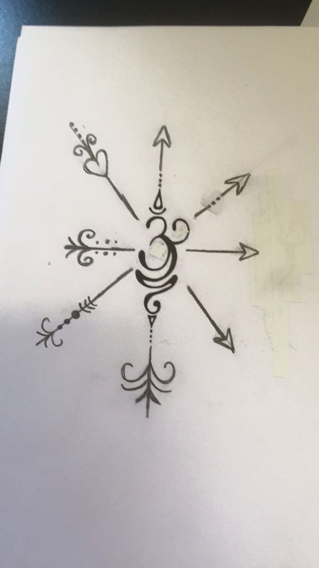 Tattoo i designed symbol in the middle means sisterfamily and symbol in the middle means sisterfamily and the crossing of buycottarizona