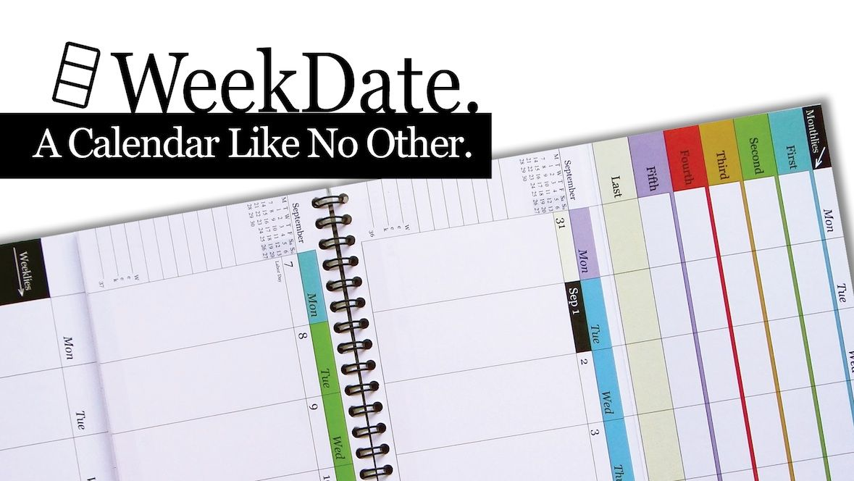 WeekDate, Best Paper Calendar, Best Paper Planner, Organizer