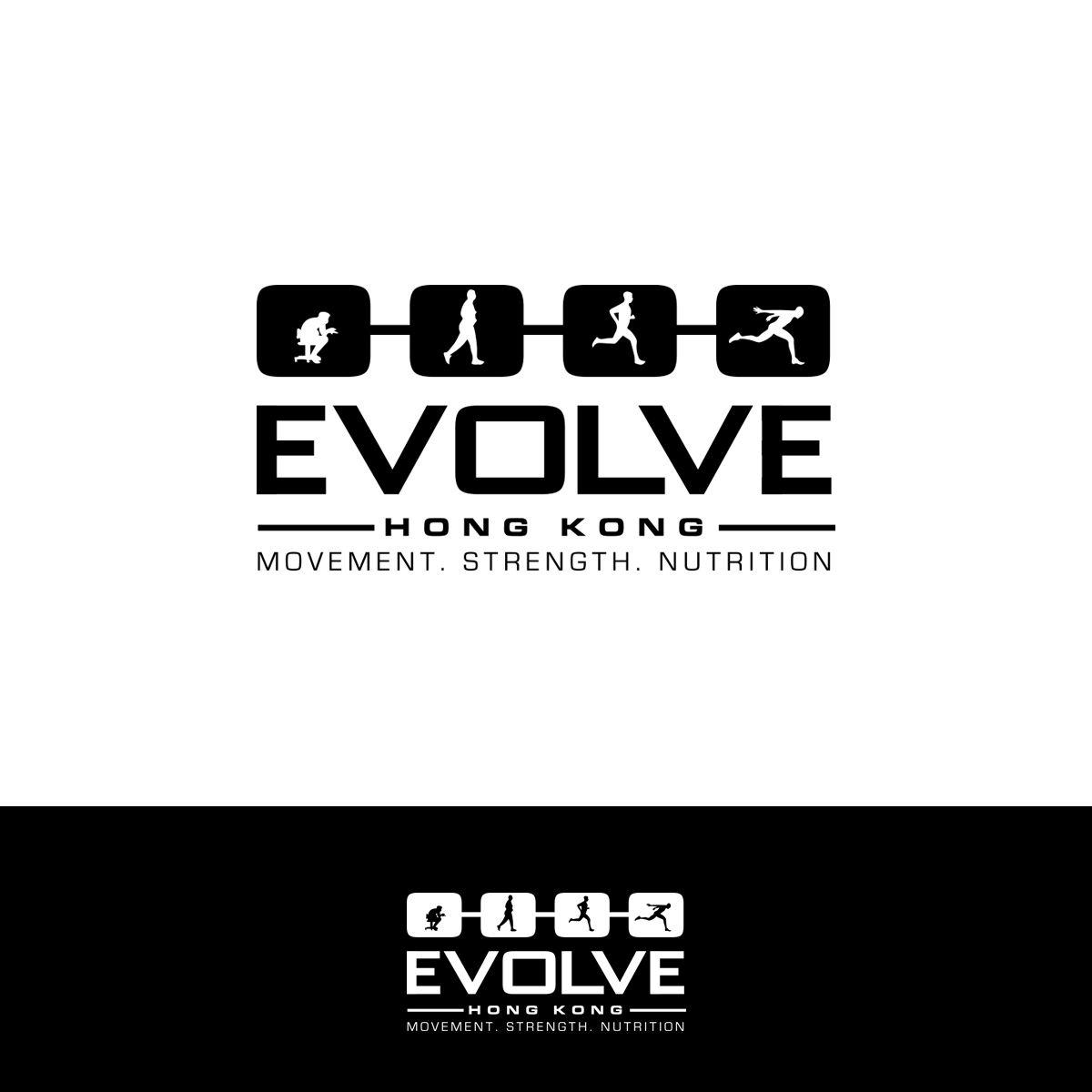 Personal Training Gym Logo Revamp Modern, Conservative