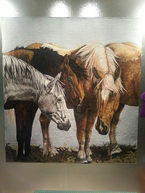 Art quilt by Laurie Britt