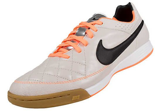 8c7db7bd09d04 Nike Tiempo Legacy IC Indoor Soccer Shoes- Desert Sand and Atomic  Orange...Available at SoccerPro!