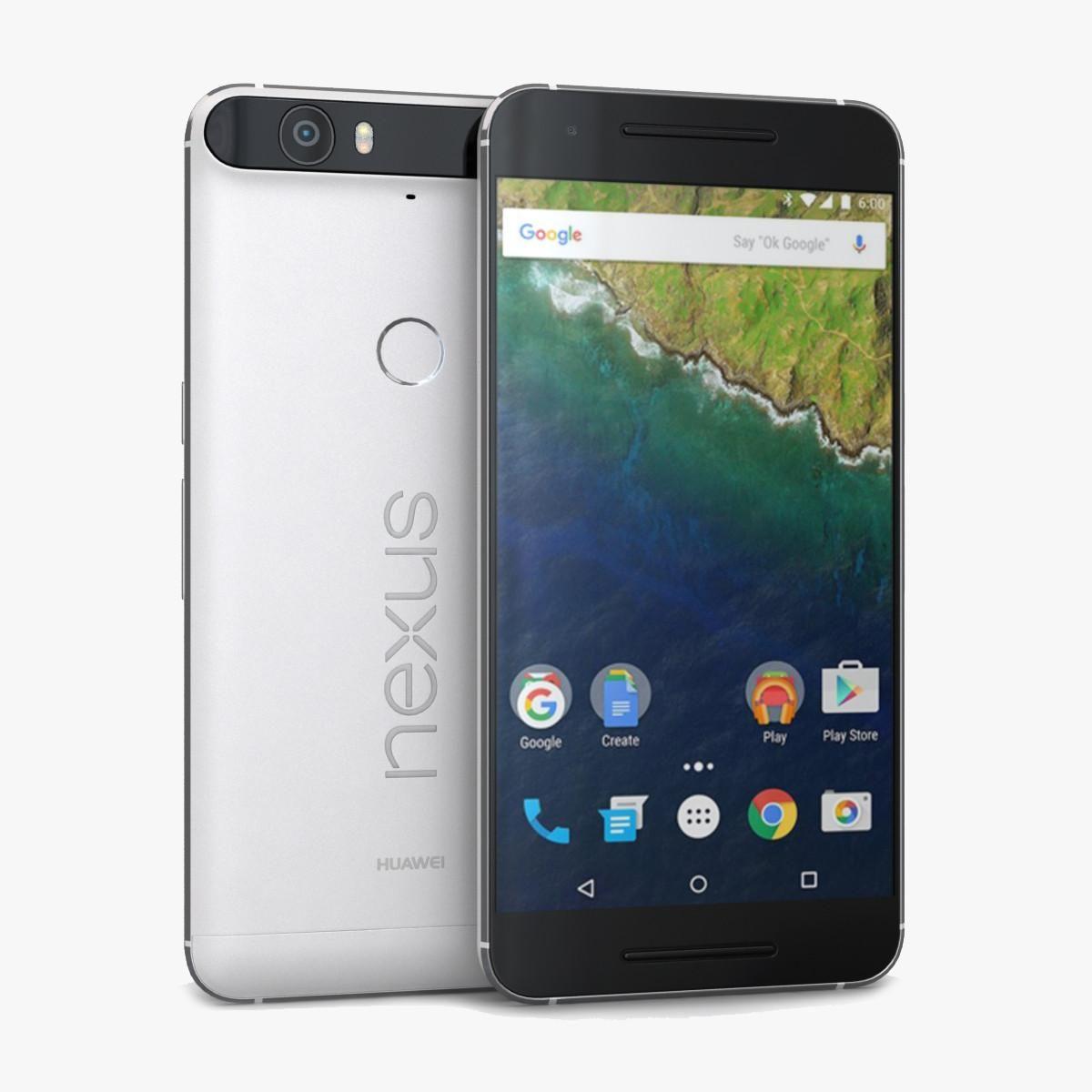 Huawei Nexus 6P Frost Or White 3D Model #AD ,#Nexus#Huawei