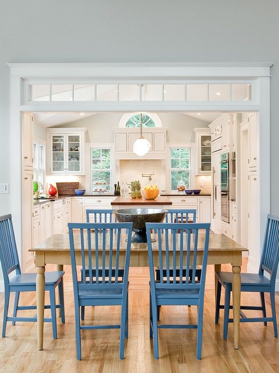 combined kitchen and dining room | kitchen dining room combo | Kitchen Dining Room ...