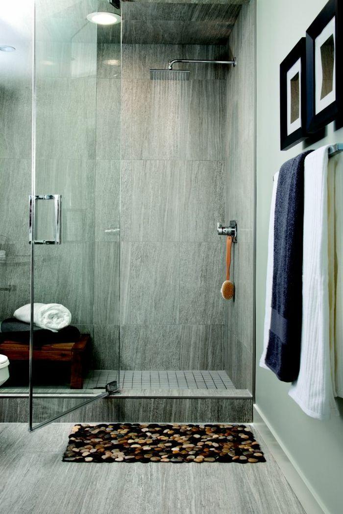 1001 ideas de duchas de obra para decorar el ba o con for Decorar banos pequenos con ducha