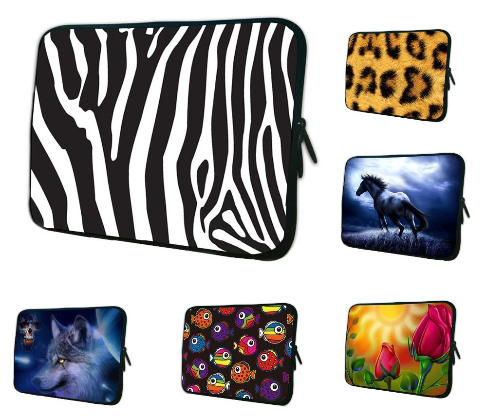 free shipping 1a76f 5da2c 7 8 inch Tablet Sleeve Case Pouch Cover Neoprene Briefcase Case For ...