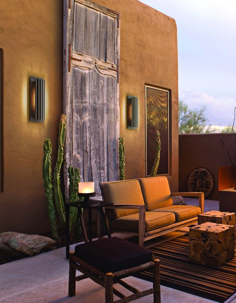 Contemporary Outdoor Lighting Gorgeous Rustic Outdoor Lighting Spaces Rustic With Contemporary Outdoor Review