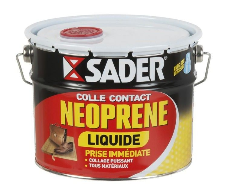 Colle Neoprene Contact Sader Liquide 2 5l Coffee Cans Canning