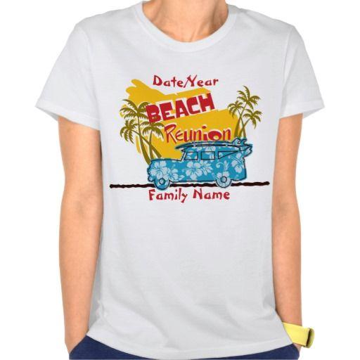b517a0ad87b Summer Fun Beach Family Reunion T-Shirt