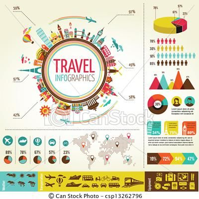 Vector travel and tourism infographics with data icons elements vector travel and tourism infographics with data icons elements stock illustration royalty freerunsca Image collections