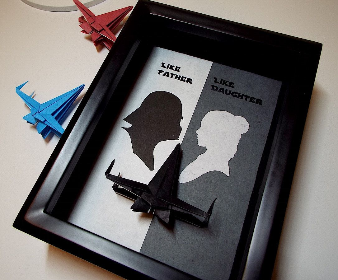 Star Wars Daughter To Father Gift Dad Gift From Daughter ... - photo#1