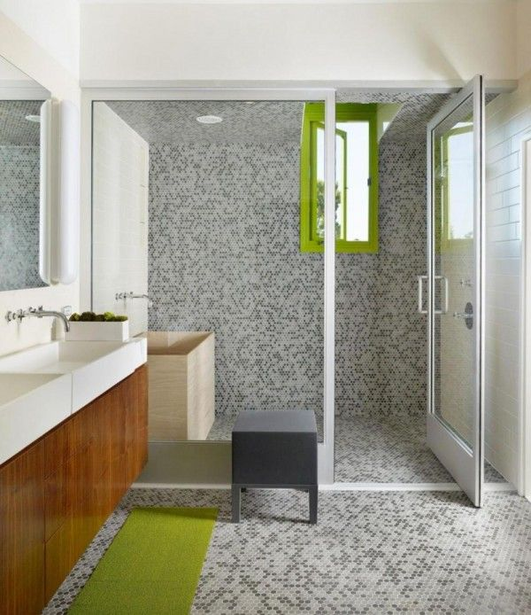 Giving The Feeling Of Space With Amazing Small Bathroom Tile Ideas