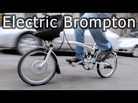 Electric Brompton Bike Most Compact Electric Folding Bicycle Brompton Bicycle Folding Bicycle