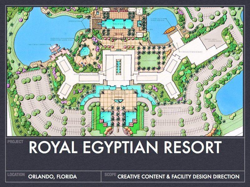 Resort Parking Design Plan Royal Egyptin Resort Parking Design Resort Landscape Design