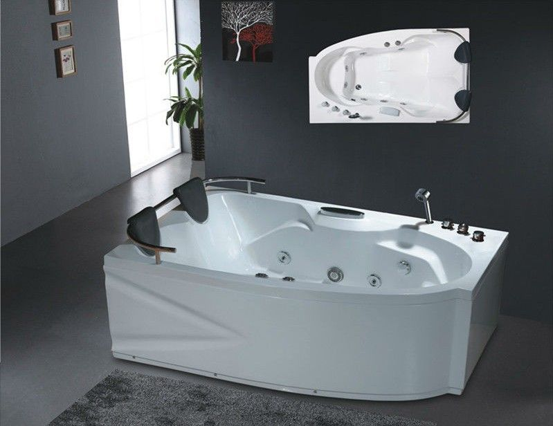 Whirlpool bathtub No.B218 bathtubs double massage bathtub bath tub ...