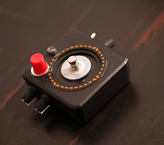 Atari Fuzz Pedal on Etsy. Who knew there were so many guitar pedals on Etsy! There's lots!