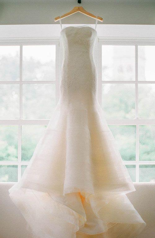 Tendance Robe du mariée 2017/2018 Strapless Vera Wang Wedding Dress