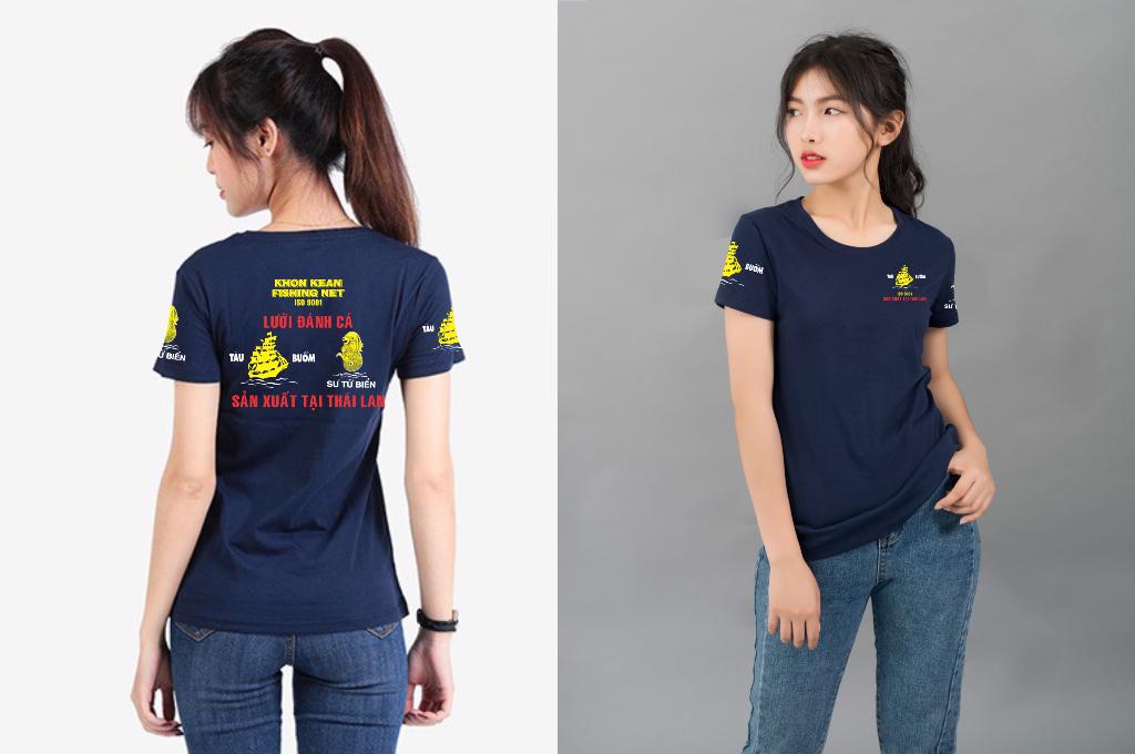 Áo thun đồng phục công ty lưới đánh cá Tàu Buồm - Hình 1