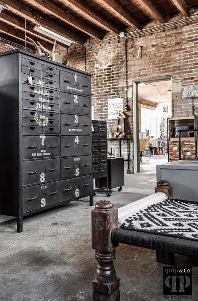 tendance d co le style industriel deco style. Black Bedroom Furniture Sets. Home Design Ideas