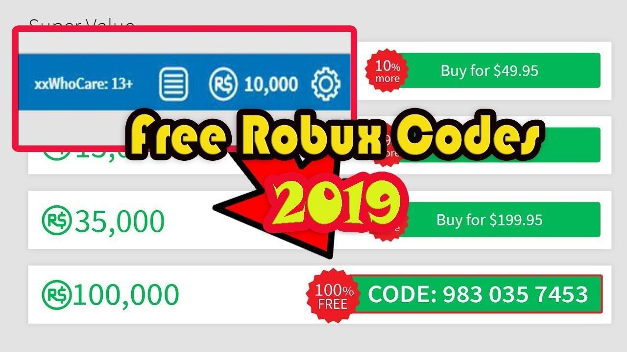Free Robux Codes How To Get Free Robux In Roblox 2019 Roblox Codes Roblox Roblox Gifts