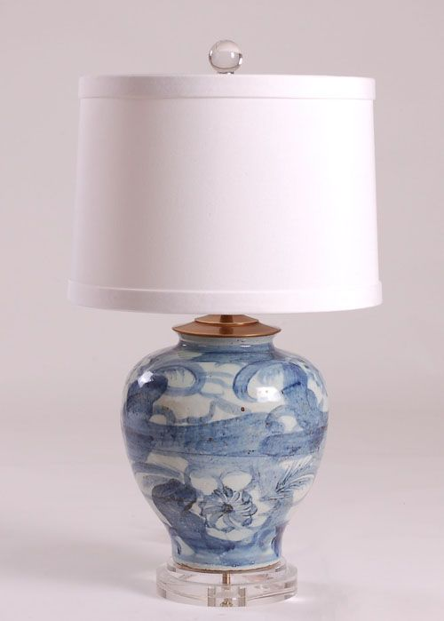 B/W Lamp: Avala And Summerour Lamps