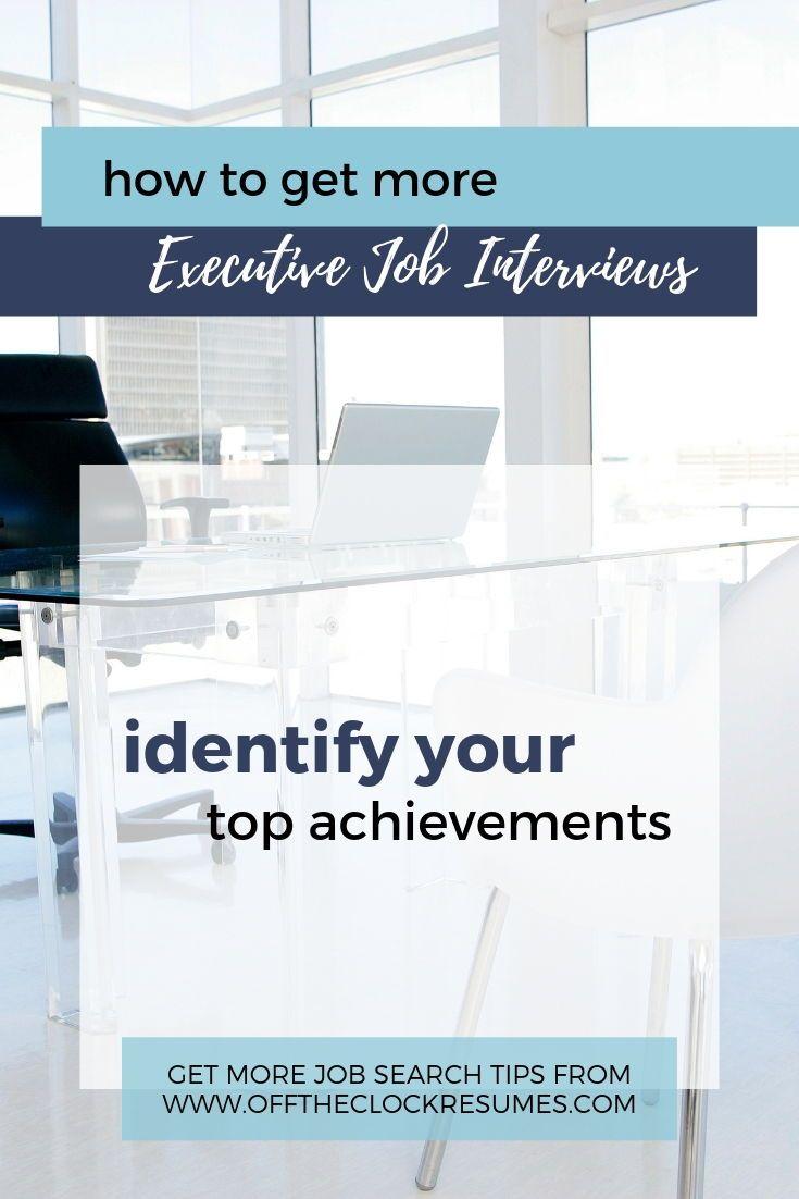 How to get more executive job interviews part 1