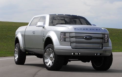 Super Chief Ford Truck Price >> 2012 Ford Super Chief Concept Truck Looks Like Some Sort Of Cartoon