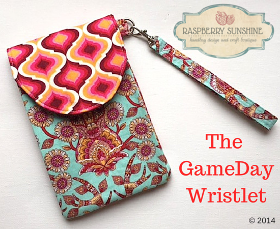 Image result for the gameday wristlet tutorial