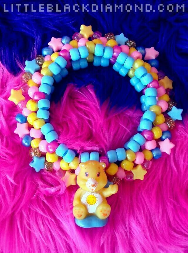 Care Bear Kandi :) #carebearcostume Care Bear Kandi :)  #kandi #kandibracelets #carebearcostume