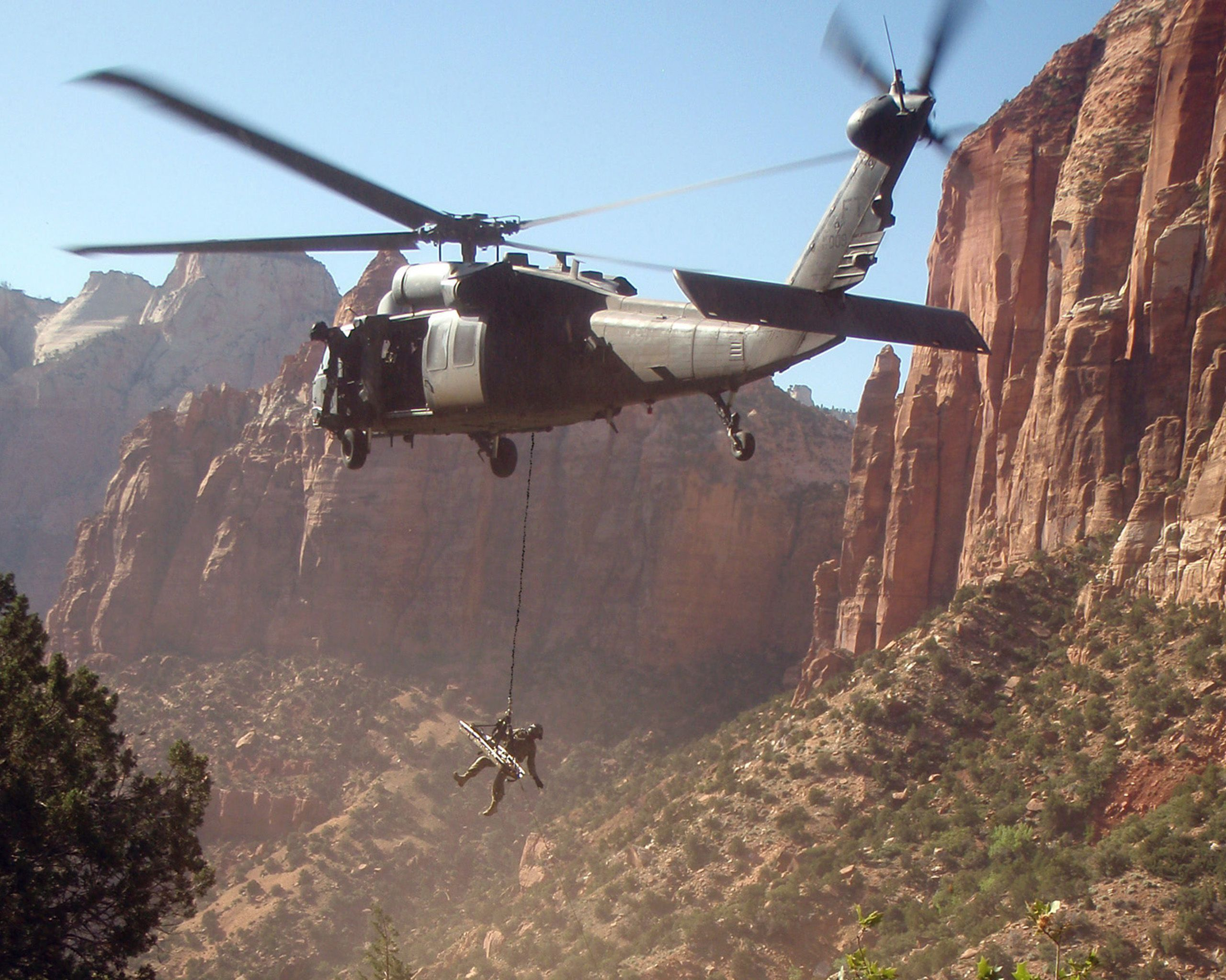 Pave Hawk HH60 in Zion Military helicopter, Aircraft