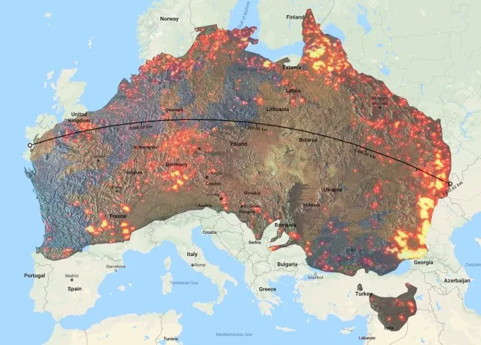 Top maps and charts that explain the terrifying 201920