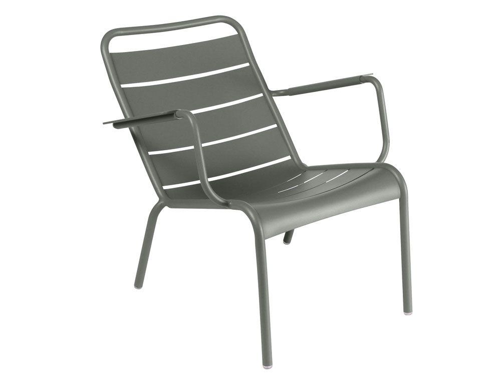 Fauteuil bas Luxembourg, fauteuil de jardin pour salon de ...
