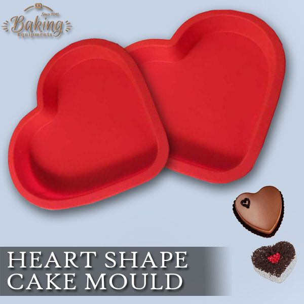 Make #baking fun and easy with Ziggy Platinium Cured #Silicone #Heart Shape #Cake #Mould. #muffin #bakewares
