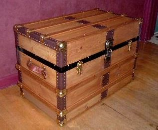 Nautical Trunk Coffee Table | Table Designs Plans | Pinterest | Trunk  Coffee Tables