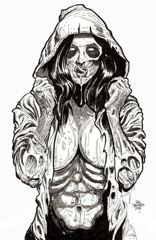 Zombie Pinup Diva 77 Draw Comment Dessiner Carnet De